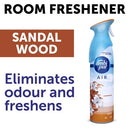 Ambi Pur Air Effects Room Freshener Sandalwood, 275 g