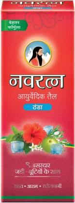 Navratna Ayurvedic Oil, 200 ml