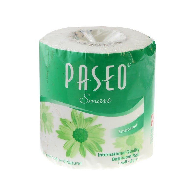 Paseo Smart 2 Ply Toilet Tissue Paper (1 Roll)