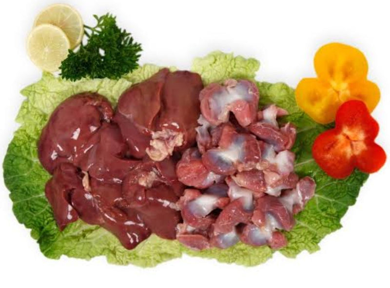 Fresh Chicken (Gizzard & Liver), 500g