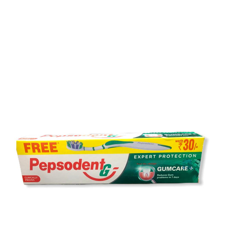 Pepsodent G - Expert Protection Gum Care+, 140g + FREE Toothpaste worth Rs.30/-