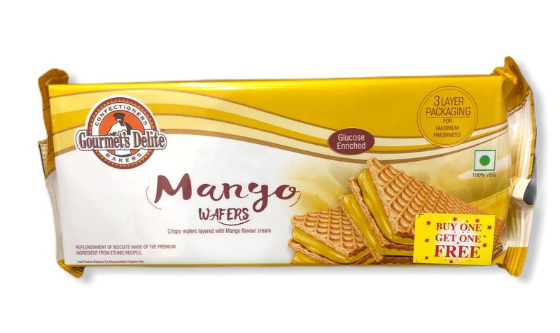 Gourmet's Delite Mango Wafers, 150g BUY ONE GET ONE FREE
