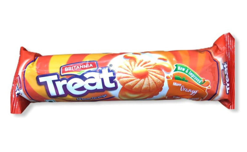 Britannia Treat O'som Orange, 120g