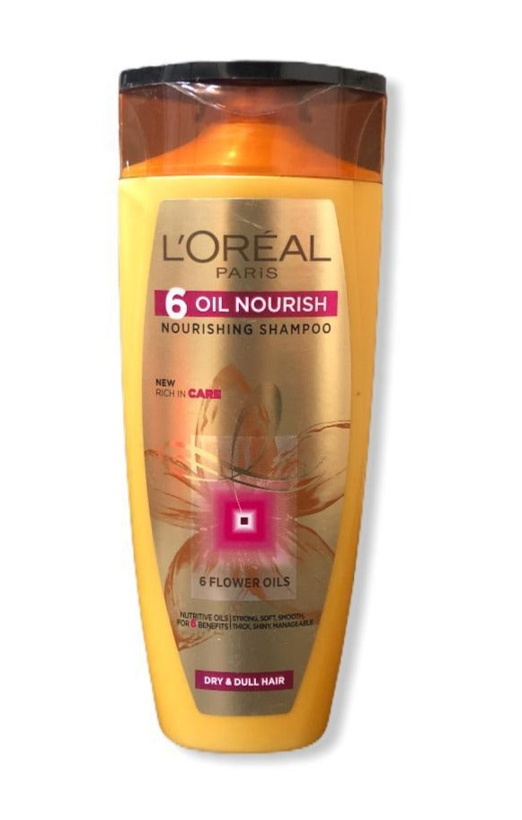 L'Oreal Paris 6-oil Nourish Noursihing Shampoo, 175ml (With 10% Extra)