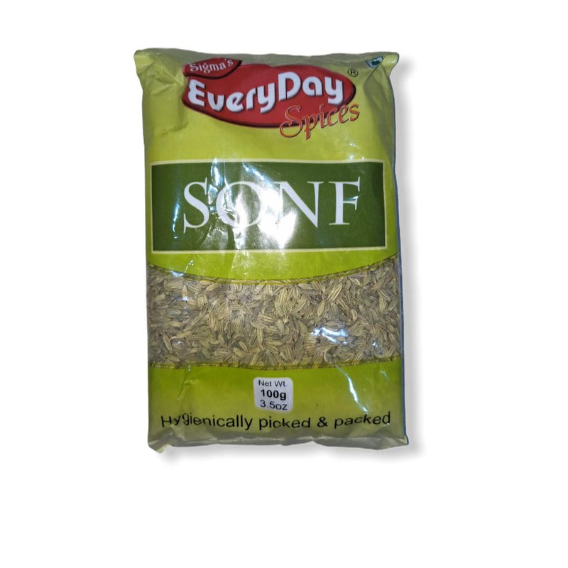Sigma's Everyday Sonf Whole (Fennel Seed), 100g