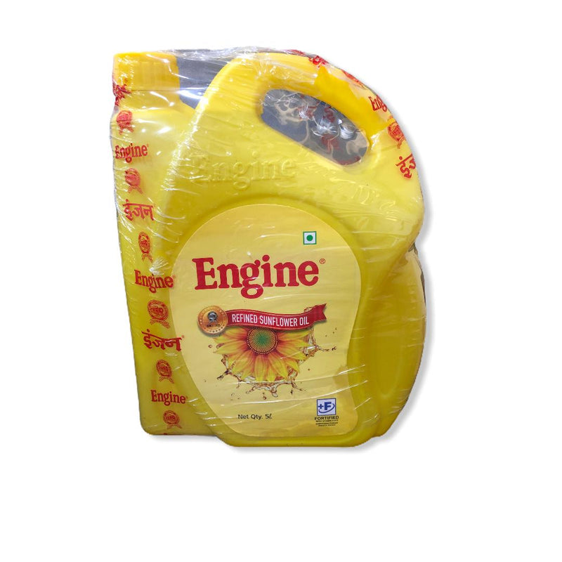 Engine Refined Sunflower Oil, 5 L