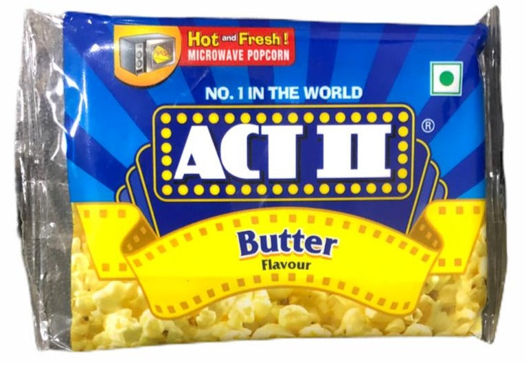 ACT II Popcorn Butter Flavour, 33 g