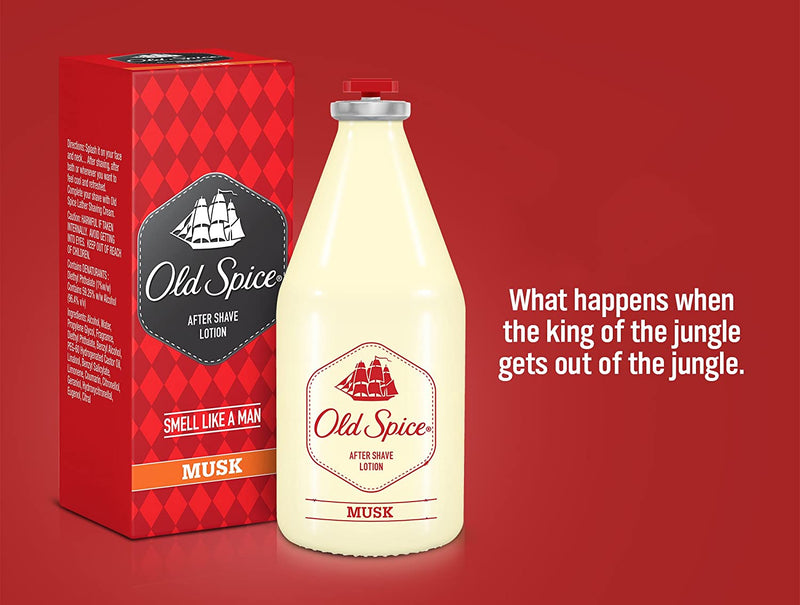 Old Spice After Shave Lotion (Musk), 50ml
