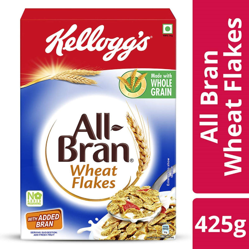 Kellogg's All Bran Wheat Flakes with Added Bran,425g