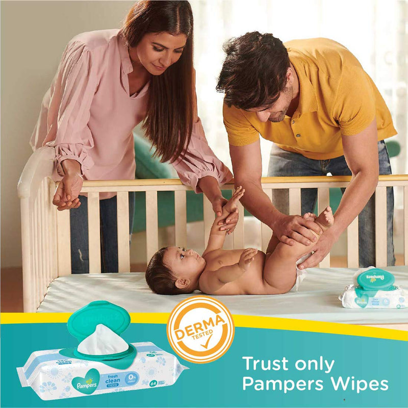 Pampers New Diaper Pants, Medium (Pack of 14)