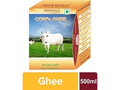Patanjali Cow's Ghee, 500ml
