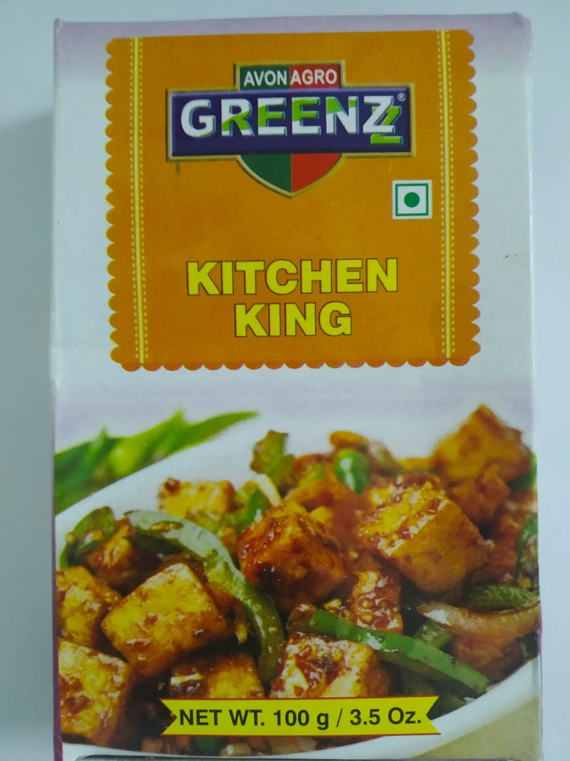 Greenz Kitchen King Curry Powder, 100gm
