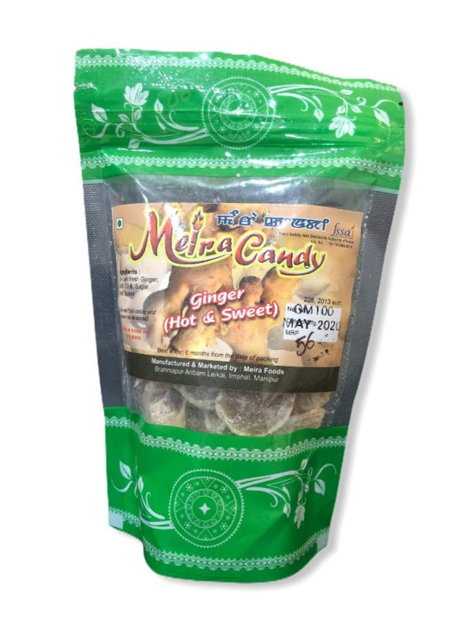 Meira Ginger Candy (Hot & Sweet), 100g