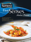 Sumeru Five Senses Medium Prawns, 250g