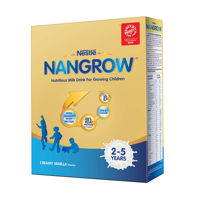 Nestle Nangrow - Nutritious Milk Drink for Growing Children - 2-5 Years, 400g