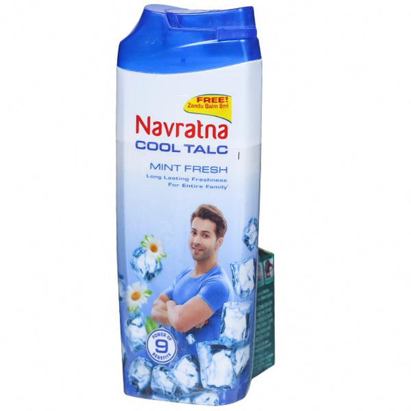 Navratna Cool (100g) Talc + (8ml) Balm