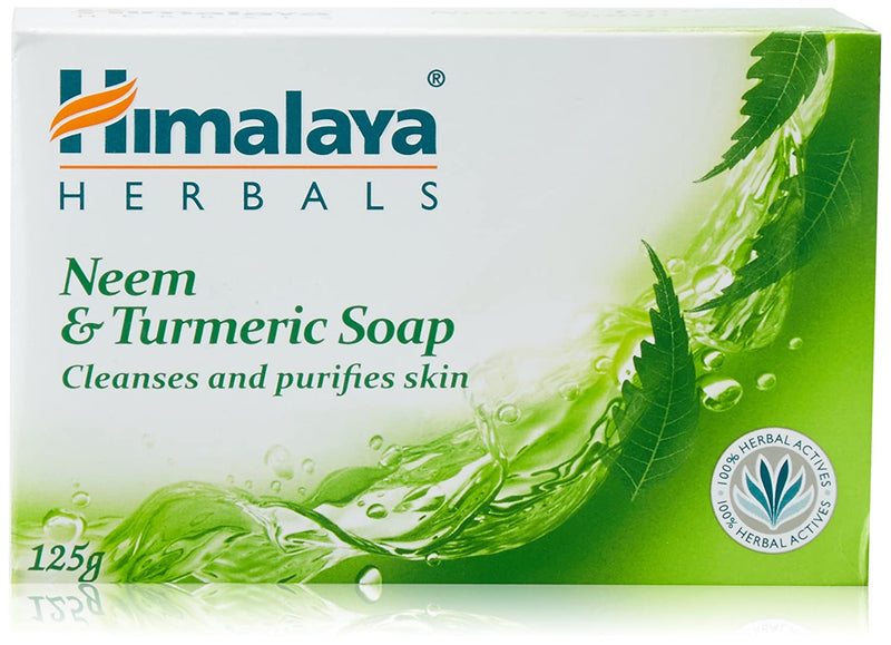 Himalaya Herbals Neem And Turmeric Soap, 75g