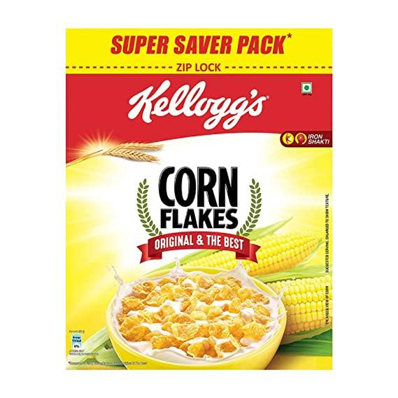 Kellogg's Corn Flakes Original, Super Saver Pack, 875g
