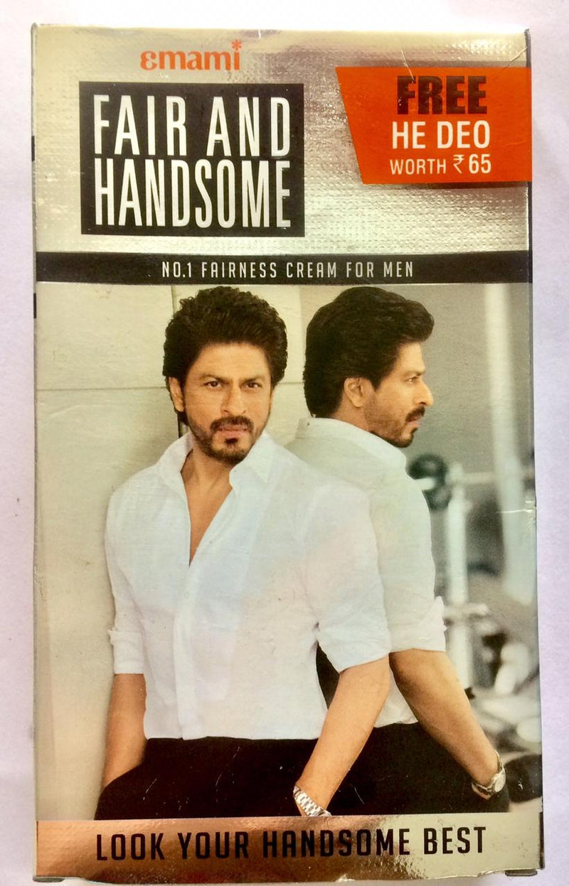 Emami Fair and Handsome 60g with Free He Deo 40ml worth ₹ 65