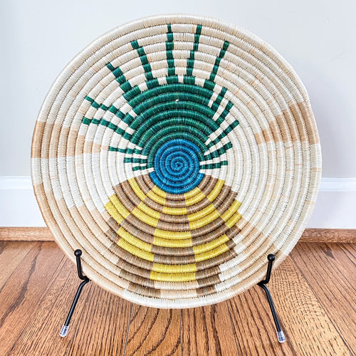 Summer Fun Pineapple Rwandan Basket