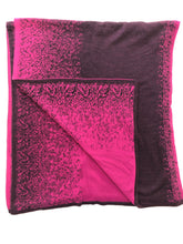 Load image into Gallery viewer, Reversible Shawl (Magenta/Plum)