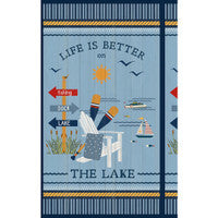 Wilmington Prints Lake Life Collection