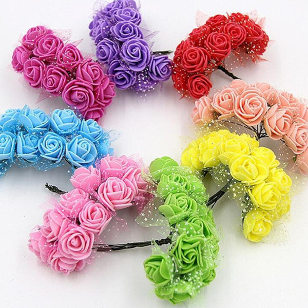 Mix 144  2.5 cm Foam Flowers