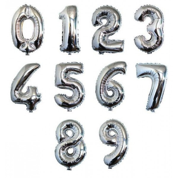Silver Foil Numbers