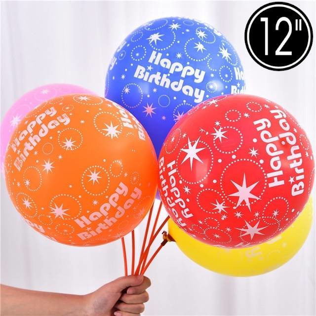Birthday Printed Balloons