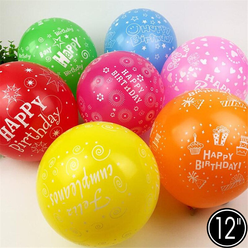 Happy B'day Balloons