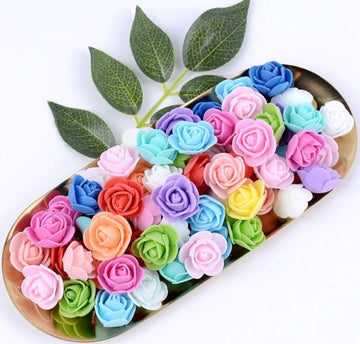 Mix 3cm Foam Rose Flowers