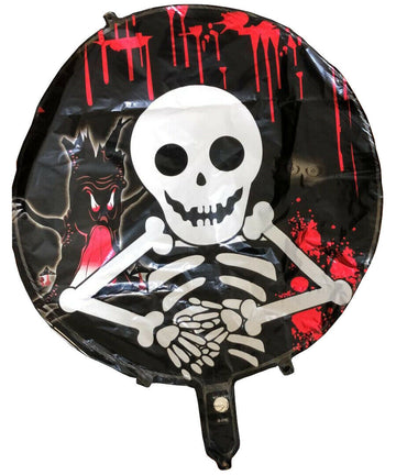 Skeleton Halloween Foil Balloons