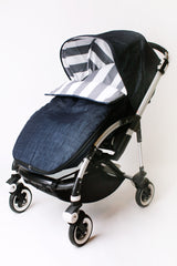 Maine Baby Treats custom Bugaboo stroller footmuff