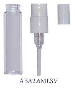 Extruded Glass Sampler Sprayers