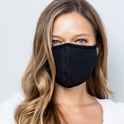 Acting Pro - Black Fabric Face Mask