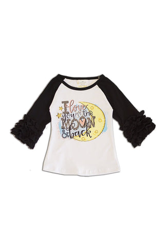 I love you to the moon raglan shirt ZX-319705