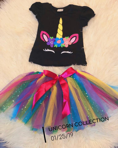 The Rainbow Unicorn Set
