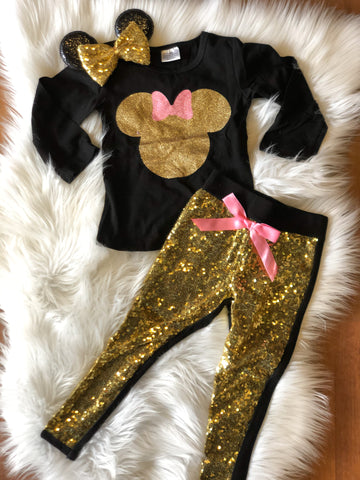 Minnie Sequin Set