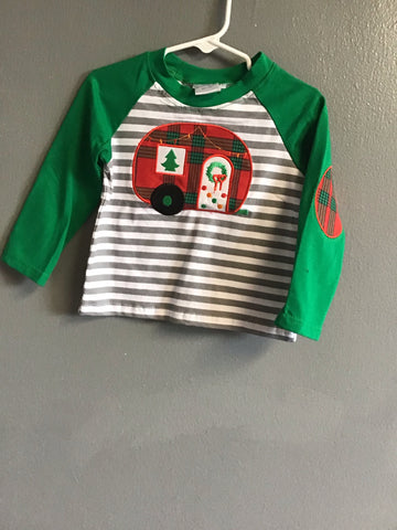 Christmas Camper Top