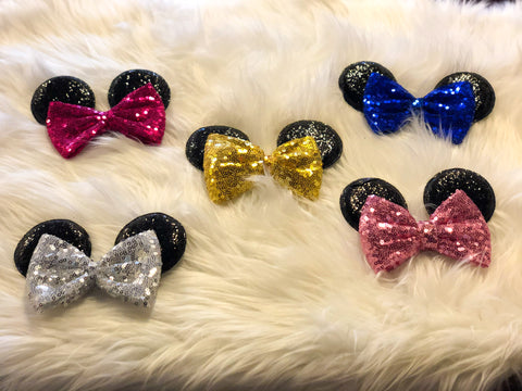 Minnie Alligator Bow