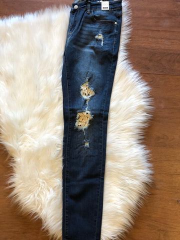 Lace Judy Blue Skinnies