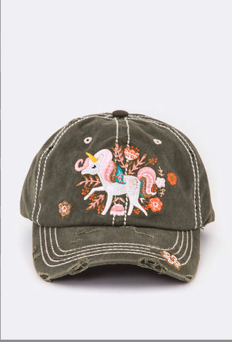 Vintage Unicorn Hat