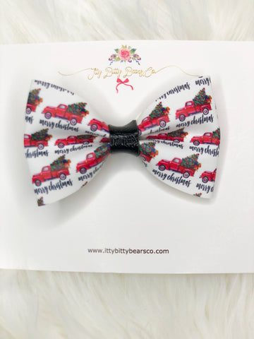 Loading Up the Christmas Tree Bow Tie