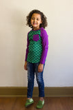 Under the Sea Kids Raglan