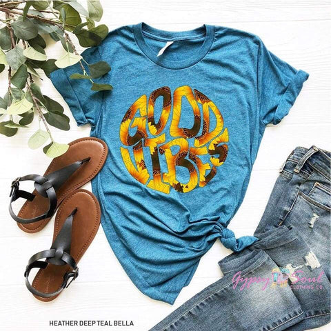 Sunflower GOOD VIBES T-shirt