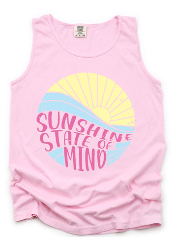 SUNSHINE STATE OF MIND TANK OR TEE