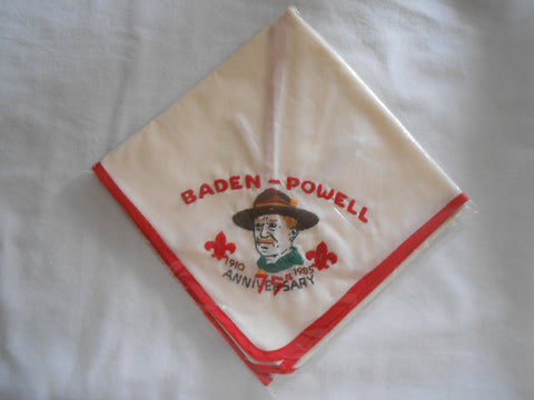 Baden-Powell 75th Anniversary Neckerchief
