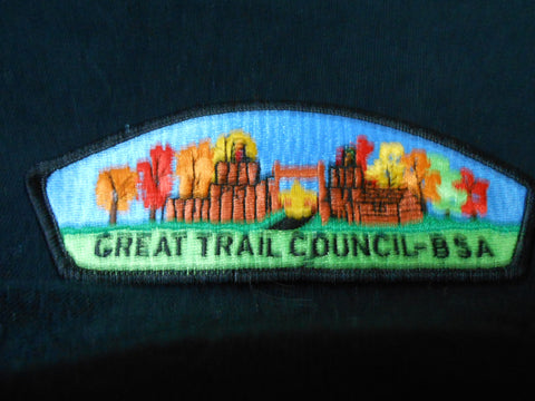 Great Trail Blk Bdr CSP
