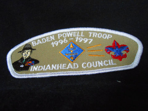 Indianhead ta4 Baden Powell troop 1996-7 CSP