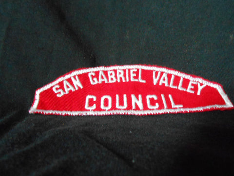 San Gabriel Valley Council R&W